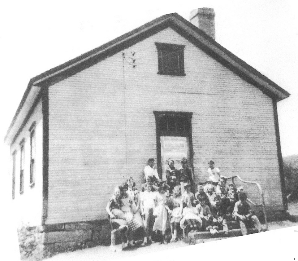 Korns School, Southampton Township, Somerset County, PA.