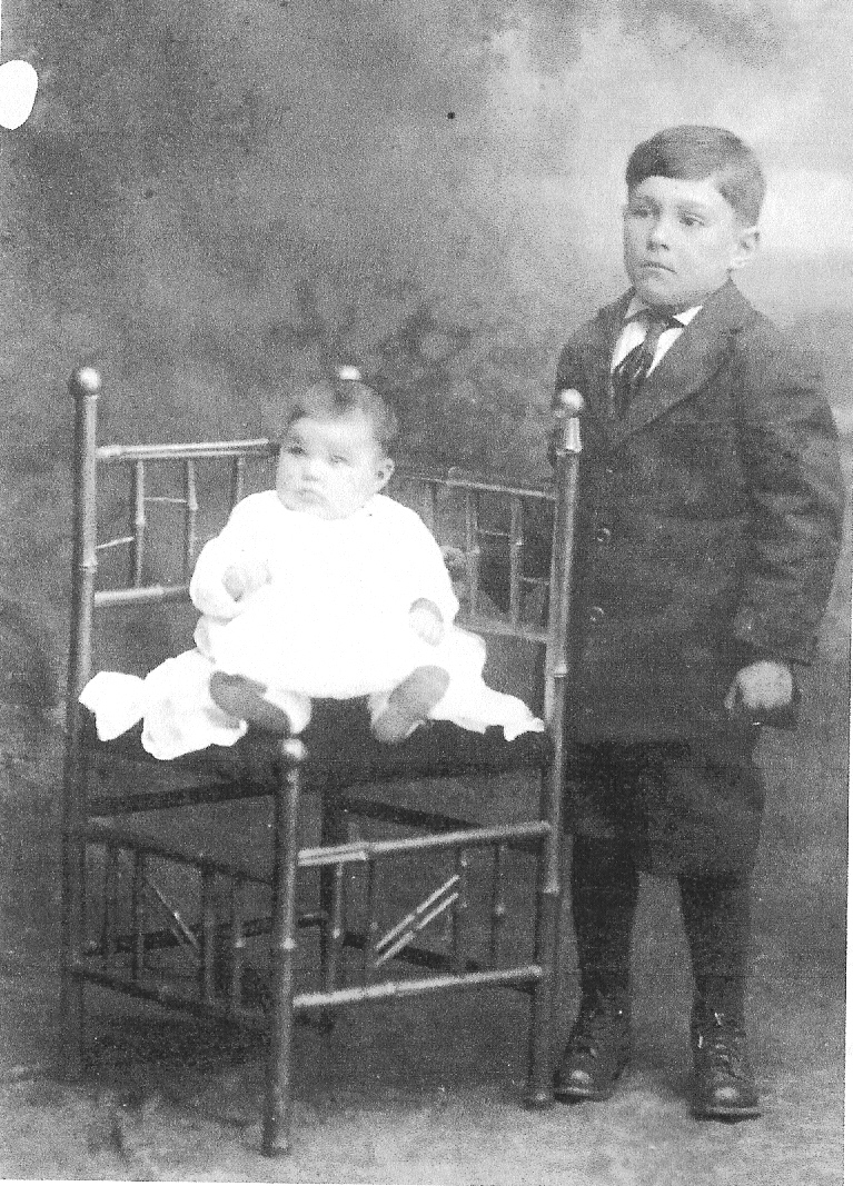 Lester and Lucretia Korns, 1917