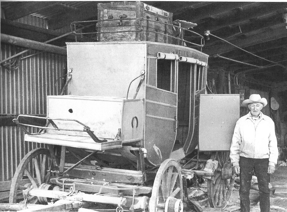Lester Korns' stage coach, Southampton Township, Somerset County, PA