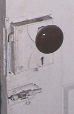 Door, Korns farmhouse, Southampton Township, Somerset County.