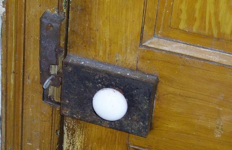 Door latch, Korns farmhouse, Southampton Township, Somerset County.