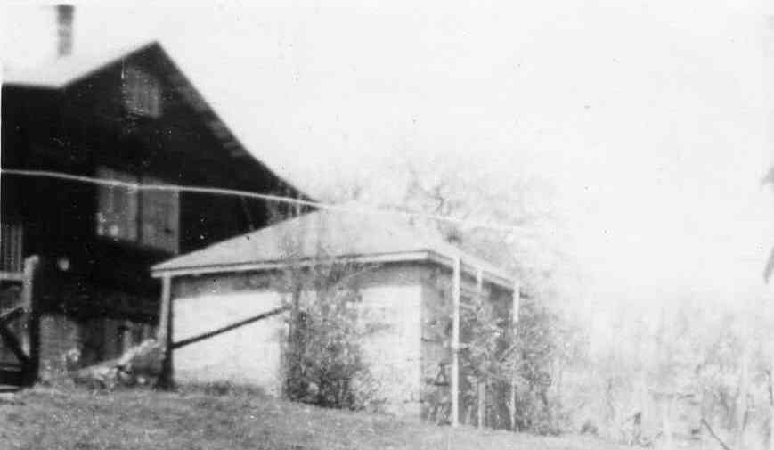 Upper house on the Allen Korns farm