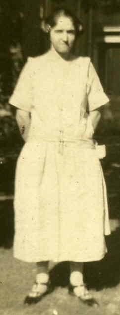Gladys Bittner, 1924.