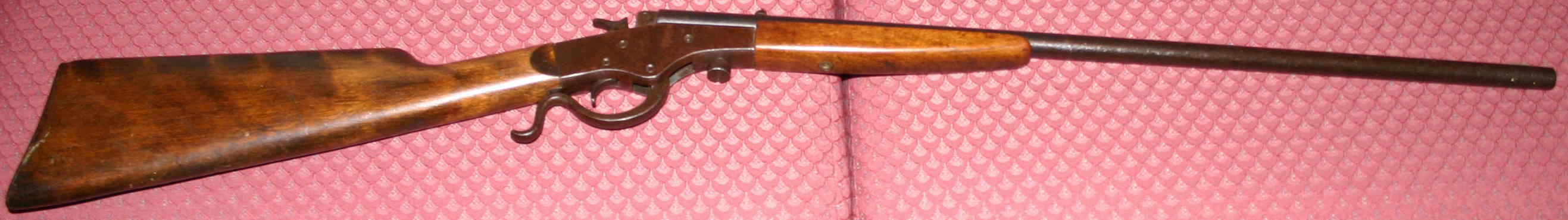 Allen Korns' boyhood .22 cal. rifle