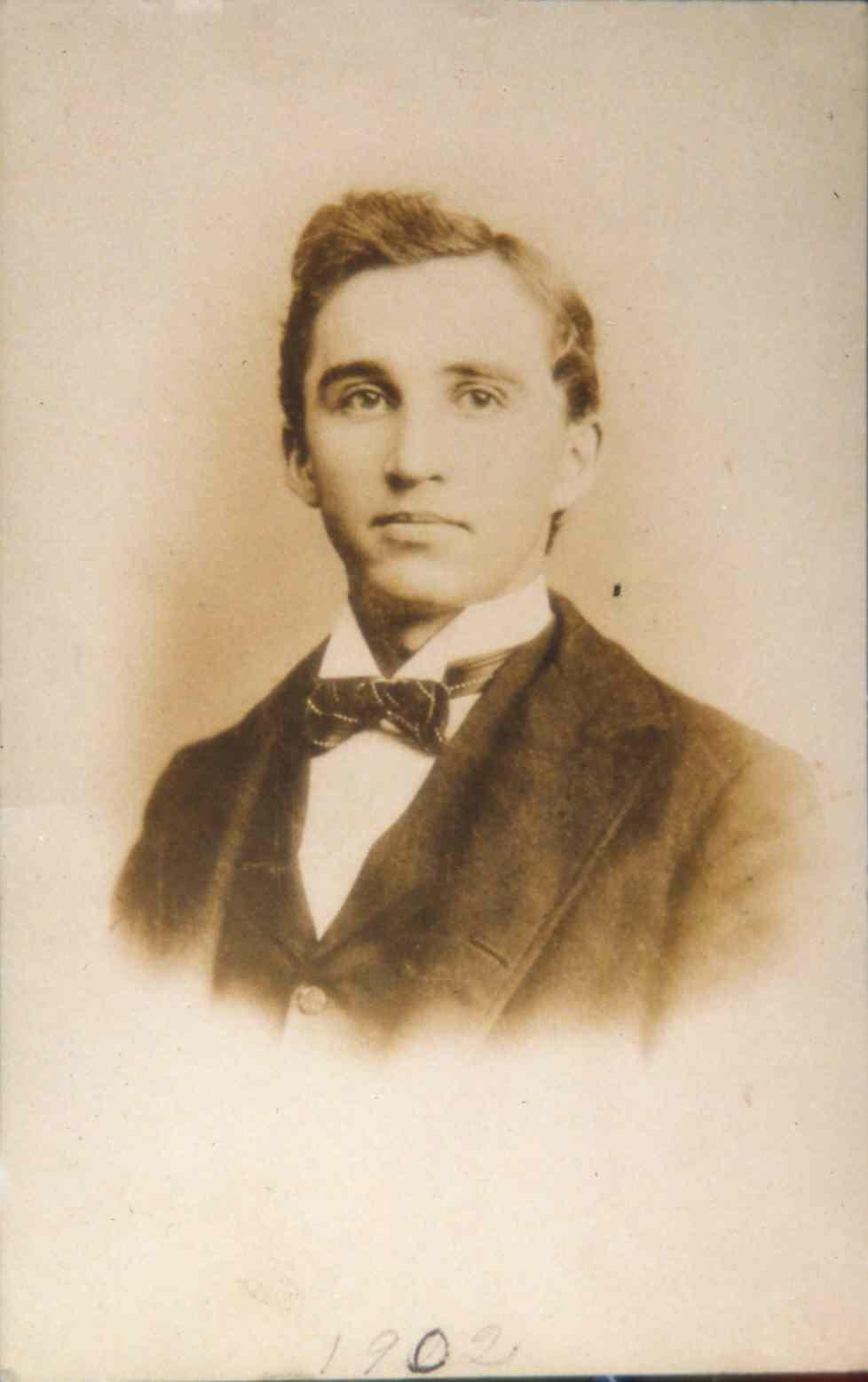 Calvin Bittner 1902