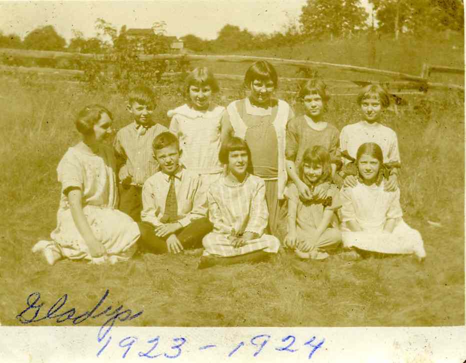 Korns school, class of 1923-24.