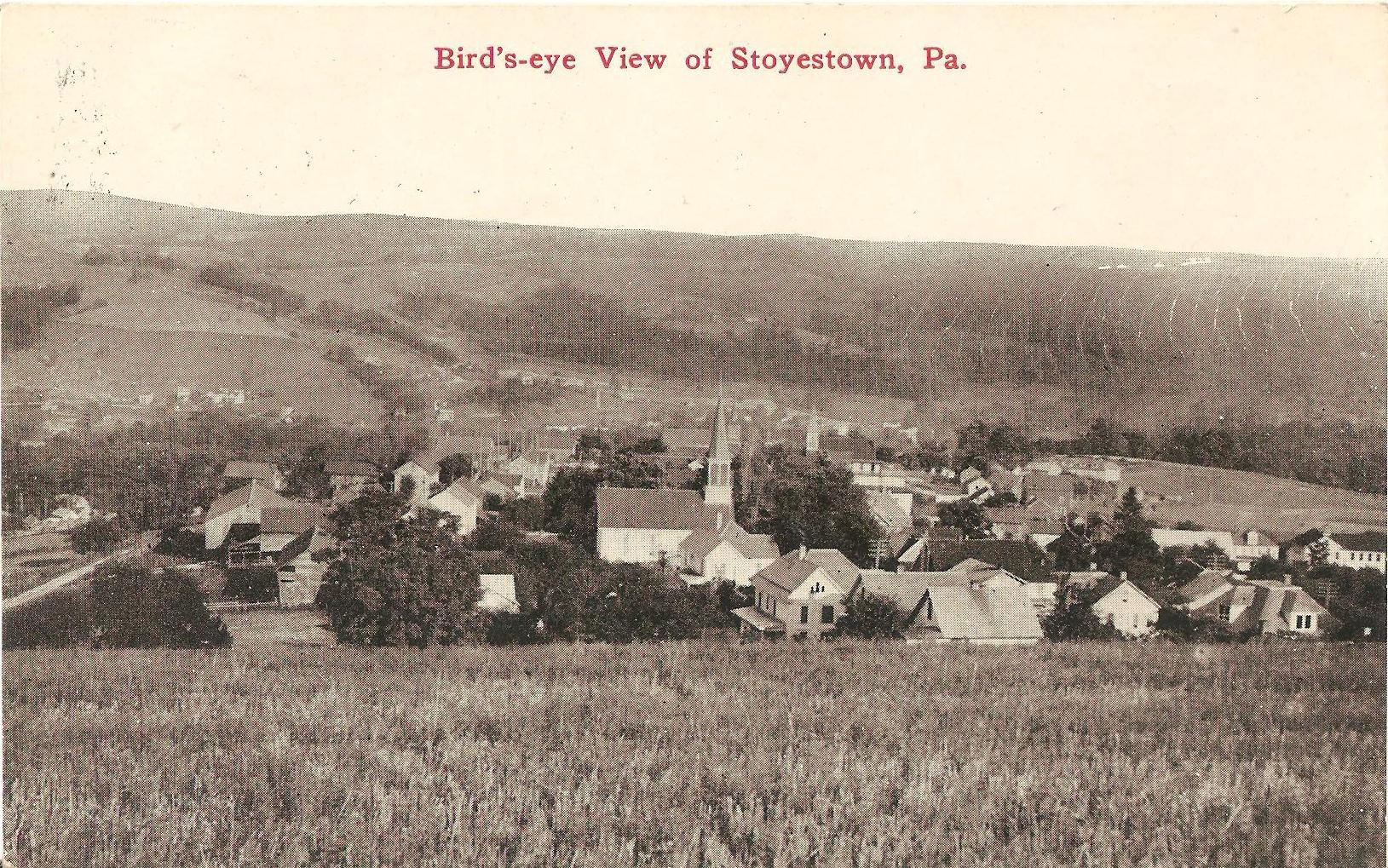 Postcard of Stoystown, PA.