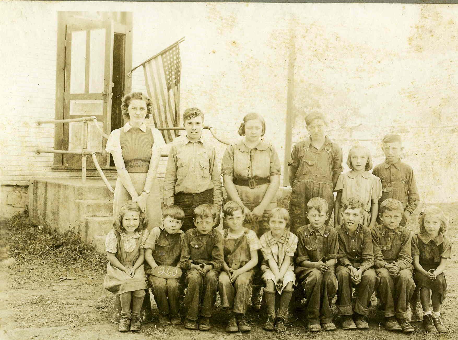 Korns School 1939-40