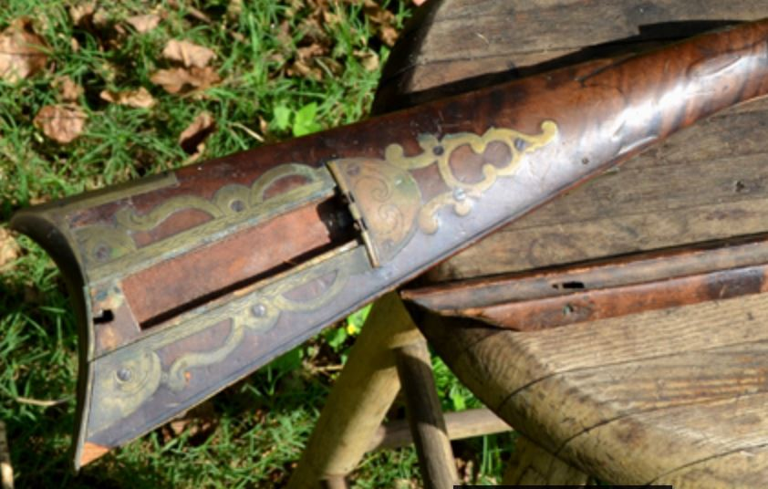 Enlargement from Troutman rifle photo 1